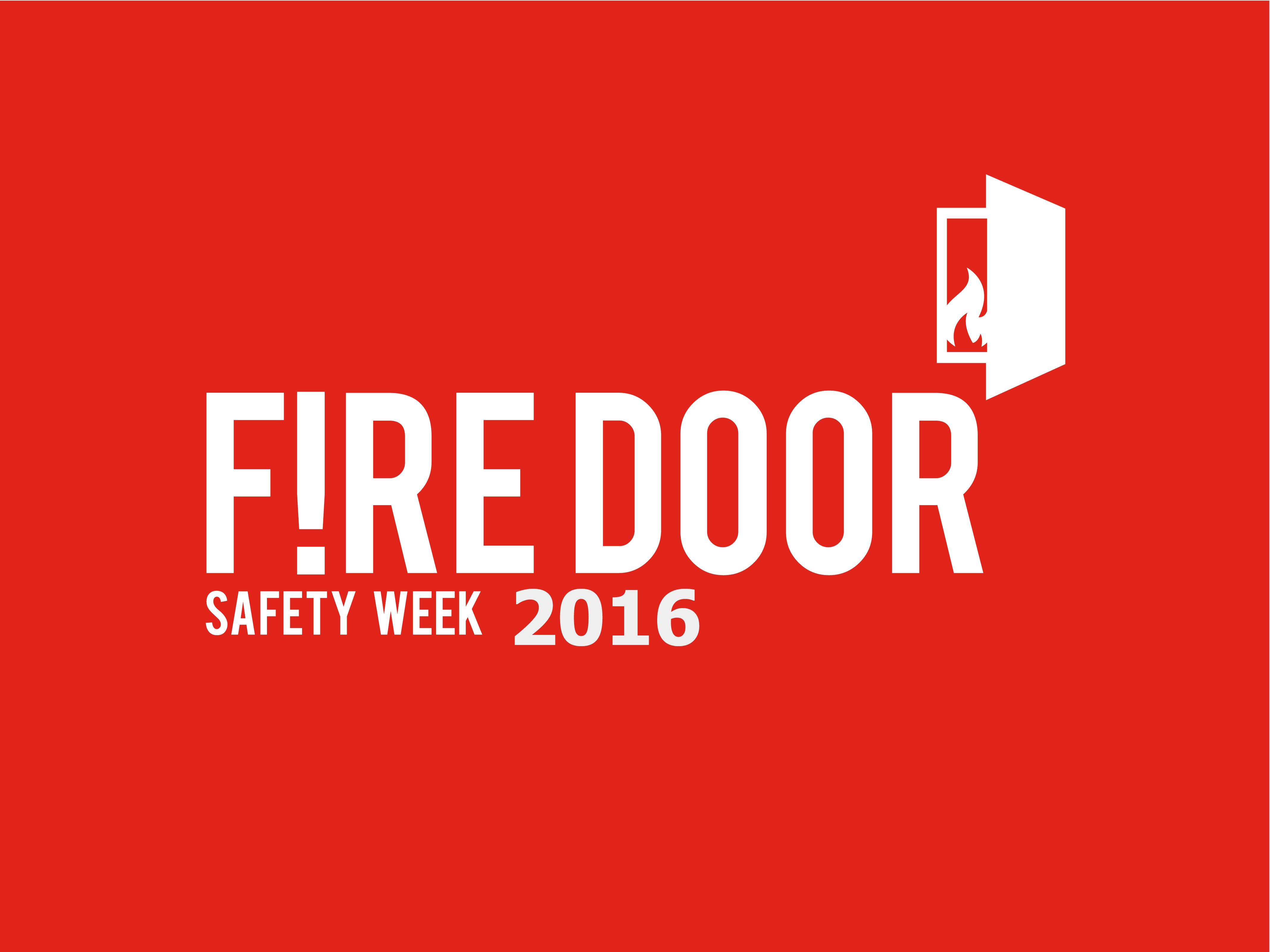 Fire Door Safety Week 2016 Logo