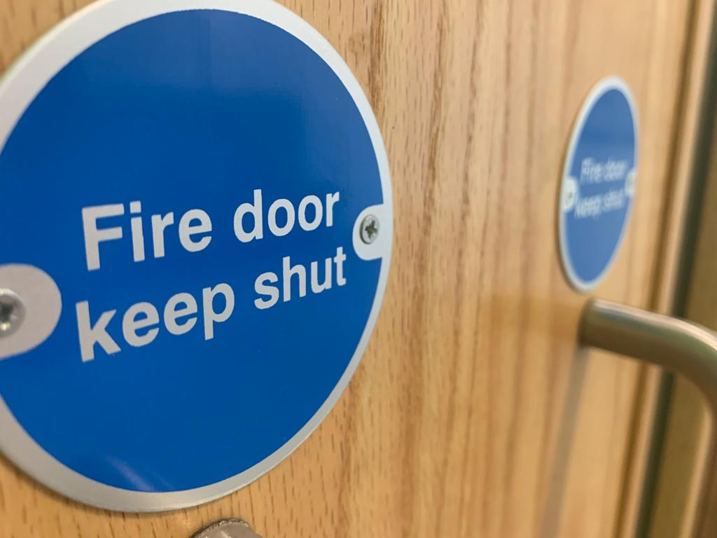 What makes a fire door work